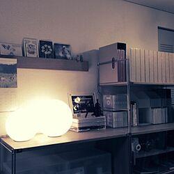 棚/無印良品/雑貨/TGM/照明のインテリア実例 - 2014-12-19 14:23:37