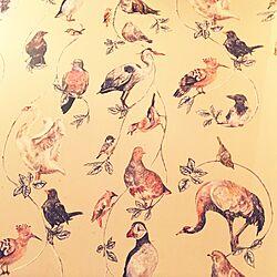 お出かけ先で見たステキなもの/壁紙/鳥モチーフのインテリア実例 - 2014-12-21 14:50:09