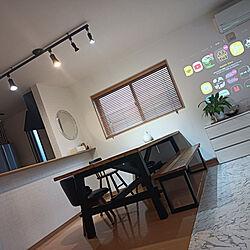 部屋全体/IKEA/IKEA ダイニングテーブル/ポップインアラジン/プロジェクター...などのインテリア実例 - 2021-09-17 05:59:55