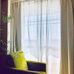 ベッド周り/私のコーナー/私の場所/日当たり良好/ドウダンツツジの枝...などのインテリア実例 - 2018-06-14 19:24:25
