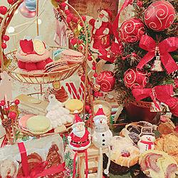 クリスマスディスプレイ/クリスマス/セリア/ダイソー/100均...などのインテリア実例 - 2019-11-16 20:40:24