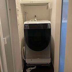 バス/トイレ/造作棚/洗濯機/SHARPのインテリア実例 - 2021-03-28 20:00:09