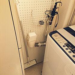 ラブリコ 2×4/セリア/電気温水器隠し!/バス/トイレのインテリア実例 - 2019-02-09 11:07:37