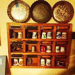 棚/シンブルコレクション/DIY/指ぬきのインテリア実例 - 2016-04-11 21:55:34