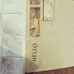 ガーデニング/アンティーク/玄関/入り口/真鍮レターのインテリア実例 - 2020-05-08 00:00:03