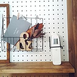 壁/天井/新しいこと/体温計/置場所/パンチングボード...などのインテリア実例 - 2020-09-14 13:23:15