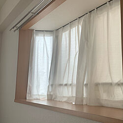 出窓のある暮らし/出窓/1K/ニトリ/賃貸...などのインテリア実例 - 2021-03-13 08:35:03
