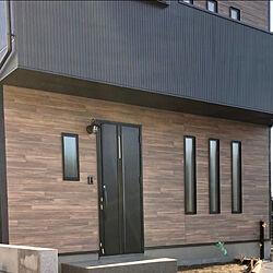マリンランプ/ニチハ/黒い外壁/黒い家/ケイミュー...などのインテリア実例 - 2020-03-26 00:00:28