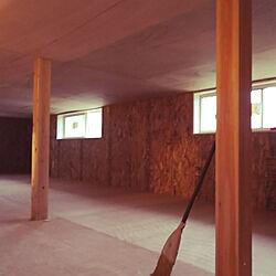 壁/天井/OSB合板/ロフトのある家/そのうちミニ四駆部屋になる予定のインテリア実例 - 2020-02-10 05:55:59