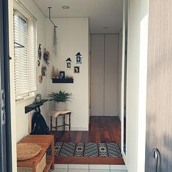 玄関/入り口/IKEA/無印良品/フリーセア ギガンティア ノバ/観葉植物...などのインテリア実例 - 2020-10-01 15:46:22