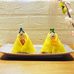 おうちごはん/ちらし寿司/ひな祭りごはん/ひな祭り/机のインテリア実例 - 2021-03-03 22:20:39