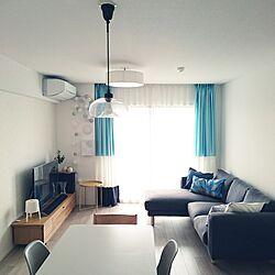 リビング/写真撮影/IKEAのソファー/マンション/マンション暮らし...などのインテリア実例 - 2017-06-12 10:46:25
