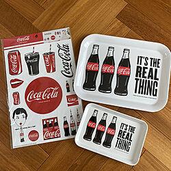 ヘリンボーンの床/Daiso/百均/コカ・コーラ雑貨/コカ・コーラ...などのインテリア実例 - 2021-09-04 10:13:45