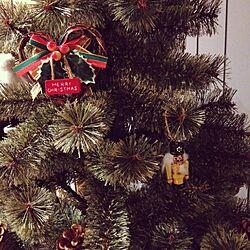 リビング/オーナメント/くるみ割り人形/ツリー/クリスマスツリーのインテリア実例 - 2015-12-11 16:21:05