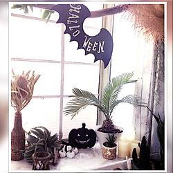机/Halloween準備♡/Rスター☆/BLACK☆STAR/雑貨...などのインテリア実例 - 2017-09-06 11:19:04