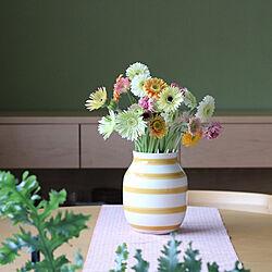 春支度/机/NO GREEN NO LIFE/花と緑のある暮らし/ラウンドテーブル...などのインテリア実例 - 2021-04-15 17:03:23