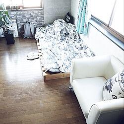 ベッド周り/ソファ/収納/DIY/モノトーン...などのインテリア実例 - 2018-07-10 11:18:45