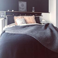 ベッド周り/キャンドルホルダー/ZARA HOME/H&M HOME/IKEA...などのインテリア実例 - 2018-03-03 12:19:02
