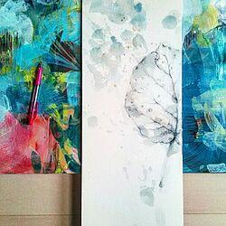机/フラワー/ウンベラータ/GREEN LIFE/Artwork...などのインテリア実例 - 2015-07-01 15:02:13