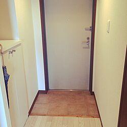 玄関/入り口/1K/1K6畳/記録用/1K 1人暮らしのインテリア実例 - 2016-05-08 14:28:28