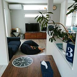部屋全体/ソングオブジャマイカ/ネイビー好き/こどもと暮らす。/掃除しやすい家...などのインテリア実例 - 2017-09-20 11:56:33
