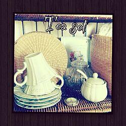 棚/カゴ/雑貨/収納/かご収納...などのインテリア実例 - 2014-07-04 07:11:27
