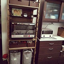 キッチン/DIY/レトロ/男前/100均のインテリア実例 - 2020-11-02 17:35:05