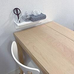机/テーブル/IKEA/●●はどんな感じ?/10000人の暮らし...などのインテリア実例 - 2018-02-09 23:36:41