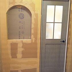 玄関/入り口/ドア/ファミリーラインパレット/マイホーム建築中/リクシル...などのインテリア実例 - 2015-12-16 14:27:34