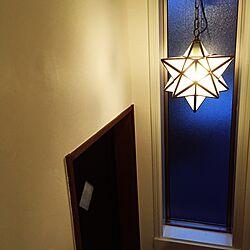 壁/天井/星/星型ライト/築40年/リノベーションのインテリア実例 - 2016-08-03 23:51:00