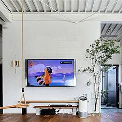壁/天井/空気清浄機/シンプルデザイン/トゥルーセンス/暮らしを楽しむ...などのインテリア実例 - 2021-04-14 17:24:15