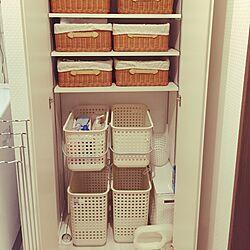 バス/トイレ/洗濯物カゴ/時短/機能的な生活/スッキリ収納/収納ボックスのインテリア実例 - 2016-07-31 07:37:45