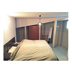 ベッド周り/シモンズ/円形/塗り壁/スロープ...などのインテリア実例 - 2016-03-25 08:18:17