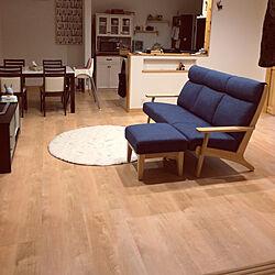部屋全体/リセット後/シンプルナチュラル/スウェーデンハウス /こどもと暮らす...などのインテリア実例 - 2018-03-15 23:29:40