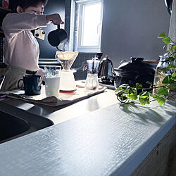 コーヒーのある暮らし/こどもと暮らす/中古住宅/田舎暮らし/IG→punmaiko...などのインテリア実例 - 2021-04-20 11:08:18