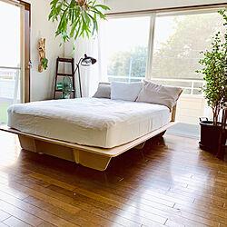 コアラベッドフレーム/コアラマットレス/組み立て簡単/ベッドフレーム/寝室...などのインテリア実例 - 2020-08-16 05:50:46