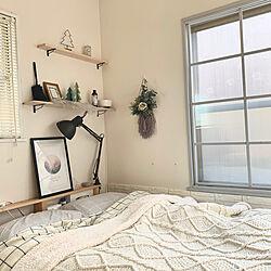 ベッド周り/ダイソー/IKEA/雑貨/DIY...などのインテリア実例 - 2020-01-13 14:26:41