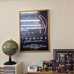 棚/地球儀/フィギアのインテリア実例 - 2012-11-07 11:21:28