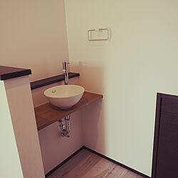 廊下に洗面台/どこでも手洗い/カフェ風/玄関/入り口のインテリア実例 - 2021-06-12 21:59:21