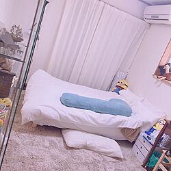 寝室/6畳寝室/ベッド周りのインテリア実例 - 2018-03-13 16:50:05