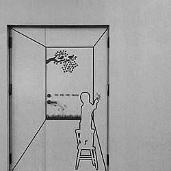 壁/天井/建具リメイク/グラフィックデザイン/カッティングシート/設計...などのインテリア実例 - 2016-01-23 22:48:51