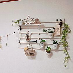 壁/天井/雑貨/seria/セラミス/観葉植物...などのインテリア実例 - 2020-06-10 15:36:56