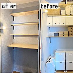 シルクプラスター/壁紙DIY/セルフリノベーション/リノベーション/DIY...などのインテリア実例 - 2021-05-11 18:08:16