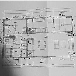 部屋全体/36坪/総2階/白×ネイビーの家/工務店と建てる...などのインテリア実例 - 2018-01-14 12:59:44