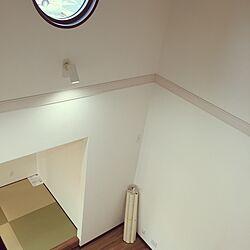 部屋全体/畳/二階からの眺め/吹き抜けリビング/和モダン...などのインテリア実例 - 2015-10-27 20:26:05