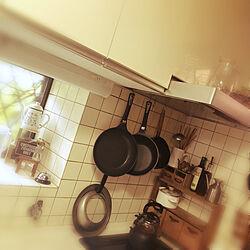 キッチン/ナチュラル/セリアの木箱リメイク/100均アレンジ/100均大好き...などのインテリア実例 - 2018-09-05 06:51:07