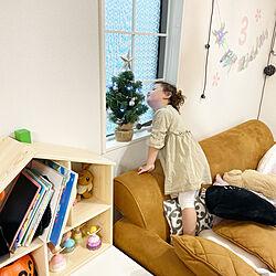 格子窓風/ドールハウス/フリサット/ニトリのクリスマスツリー/ダイソー...などのインテリア実例 - 2021-10-16 12:56:10