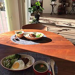 ダイニングテーブル&チェア/グリーンのある暮らし/見ていただいてありがとうございます♡/シンプルに暮らす/キッチン...などのインテリア実例 - 2020-12-31 21:45:01