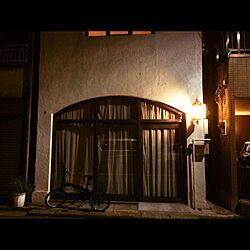 玄関/入り口/外灯/照明のインテリア実例 - 2015-10-25 23:41:53
