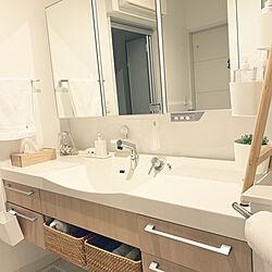 洗面所/無印良品/IKEA/Panasonic洗面台/バス/トイレのインテリア実例 - 2021-07-09 23:23:45